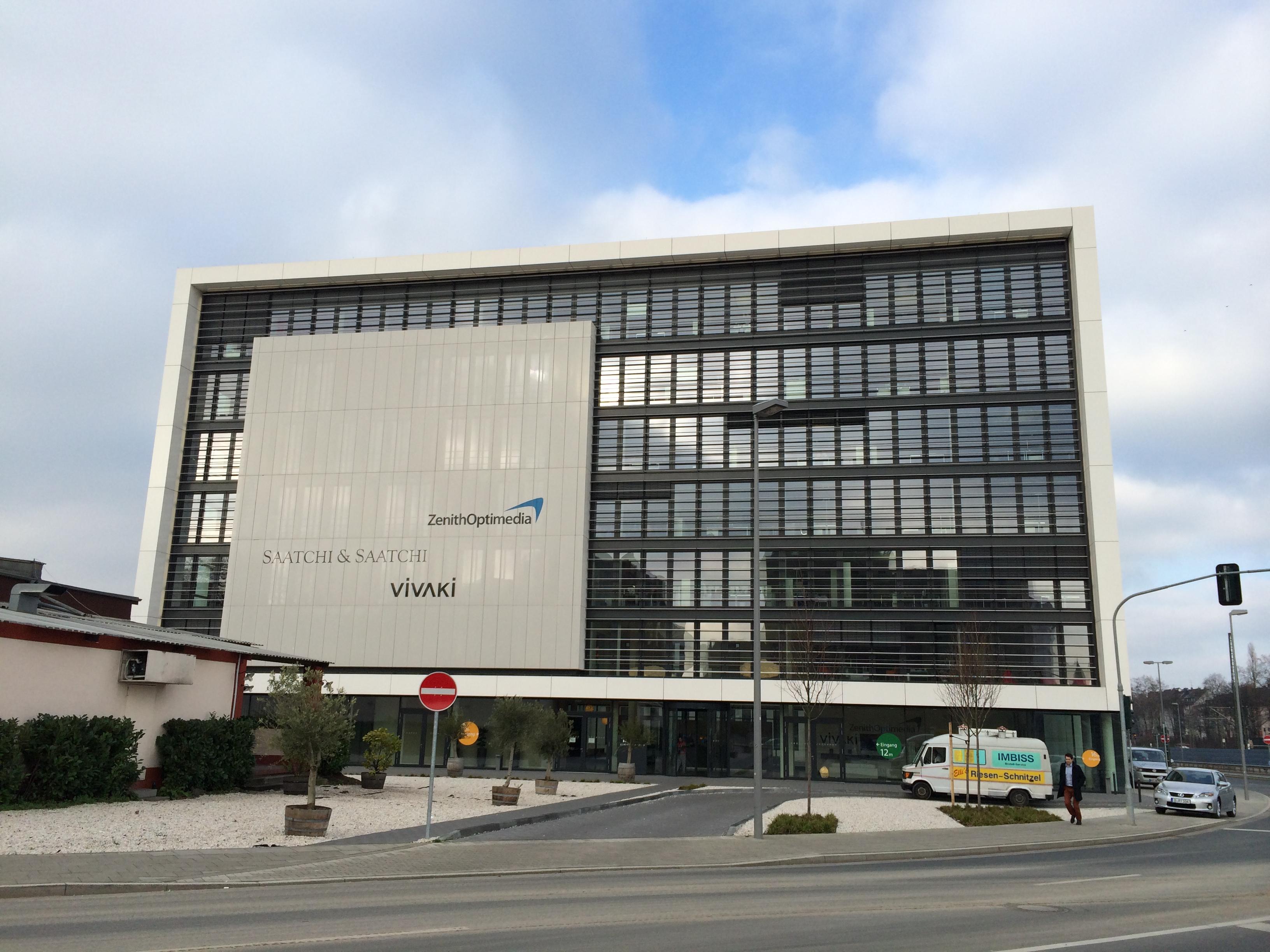Gebäudeansicht Publicis