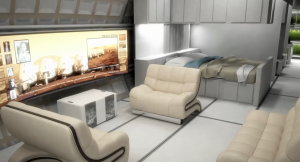 Living Quarters on Mars One - Concept (Source: Mars One - YouTube)