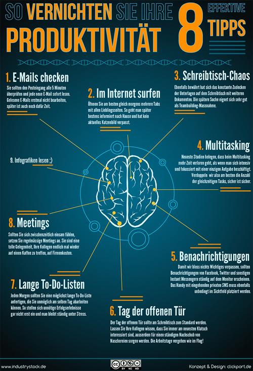 8-Tipps zur Produktivitätssteigerung