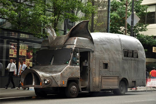 Funny Object as Food Truck (Source: BaconToday)