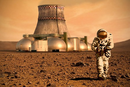 Future on Mars? (Source: D Mitriy - Wikimedia Commons)