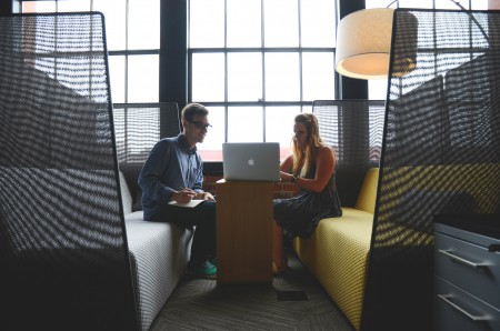 Coworking - Work Cube (Source: Pexels)